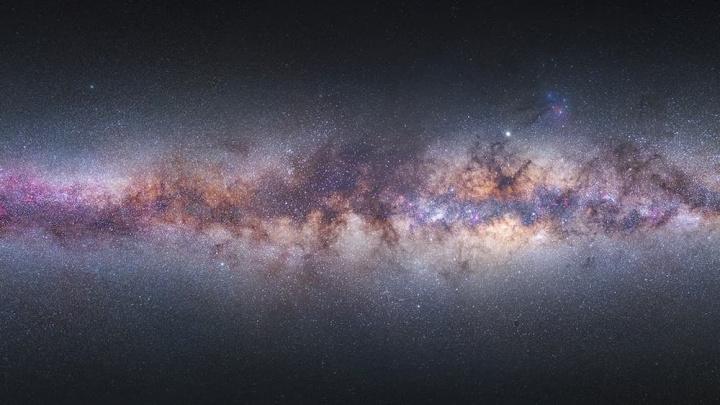 Imagem fotografia da Via Láctea por MIguel Claro escolhida pela NASA