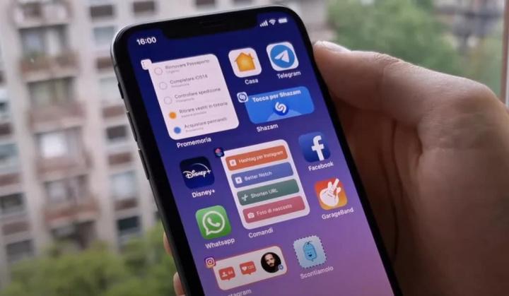 Imagem de novas funcionalidades, hipotéticas, do iOS 14 da Apple