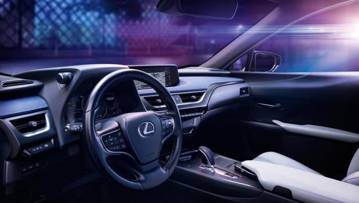 Interior do novo carro movido a 100% bateria