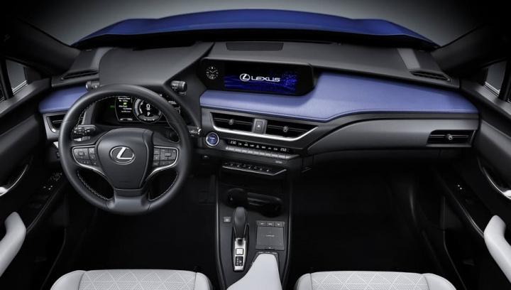 Interior do elétrico Lexus
