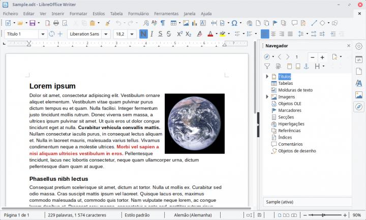 Writer do LibreOffice