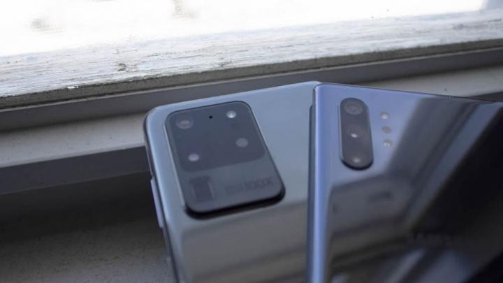 Imagem smartphones com sensor ToF