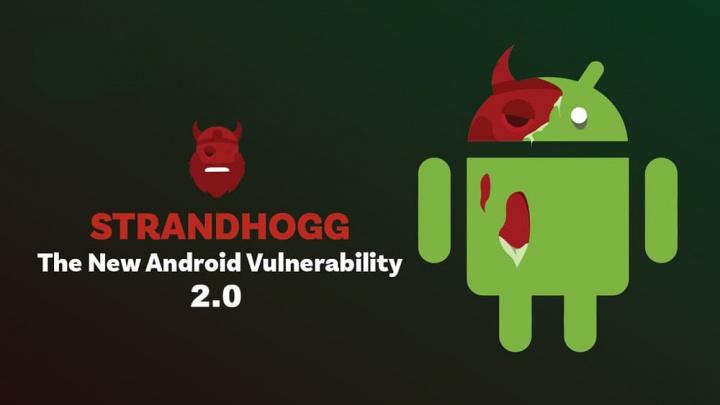 Imagem do malware para android Strandhogg 2.0