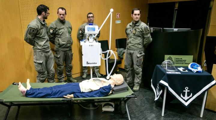 Ventilador da Marinha custará 1500 euros e chega dentro de 2 meses