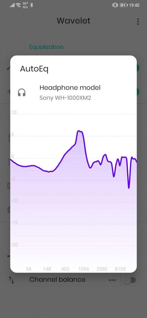 áudio Android headphones Wavelet música