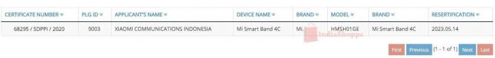 Mi Band 5 Xiaomi certificação provas