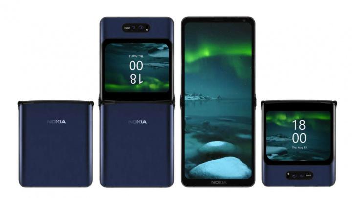 Nokia ecrã dobrável smartphone novidade