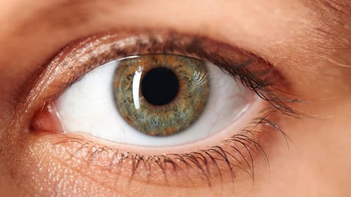 Imagem olhos, a porta de entrada para a COVID-19