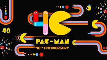 Imagem dos 40 anos PAC-MAN comemorados pela NVIDIA