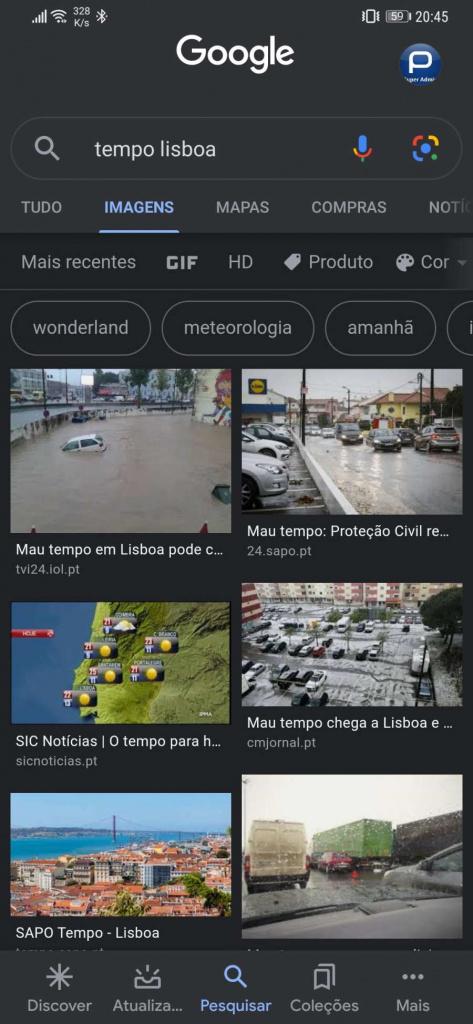 GogoGoogle Pesquisa dark mode Android iOSle Pesquisa dark mode Android iOS