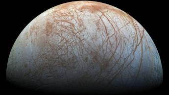 Imagem lua de Júpiter