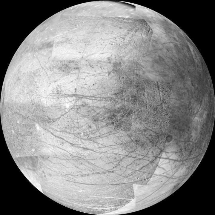 Imagem lua Europa
