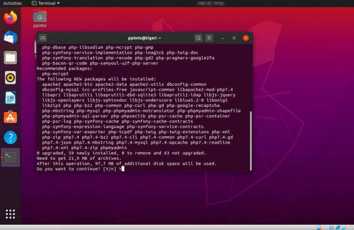phpMyAdmin: Managing databases like this for geeks