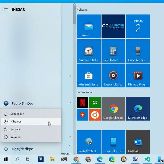 Tip: How to bring Hibernate back to the Windows 10 Start Menu
