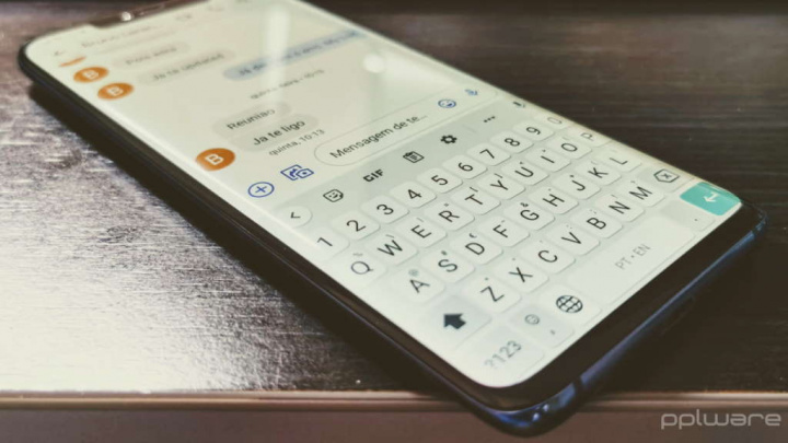Segurança OTP do Google para mensagens Android