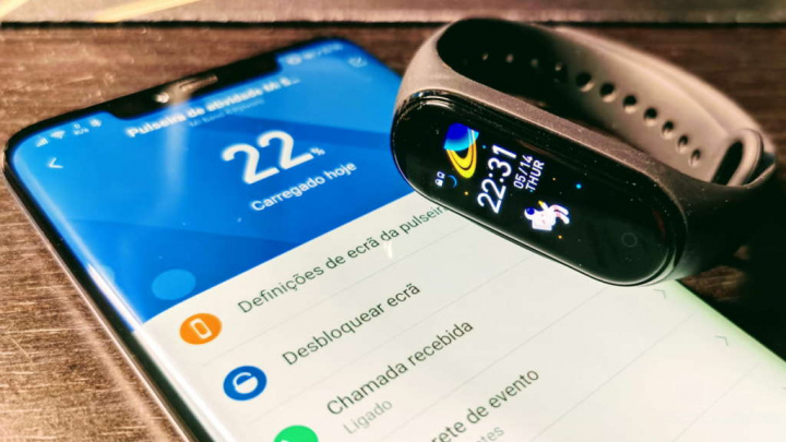 Mi Band 5 Xiaomi smartband novidades data
