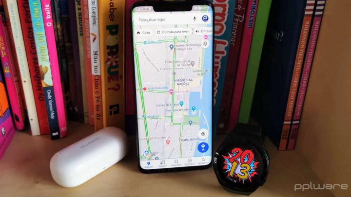 Google Maps partilhar rotas