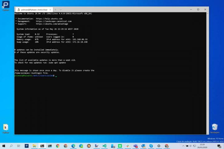 Windows 10 Microsoft update 2004 version