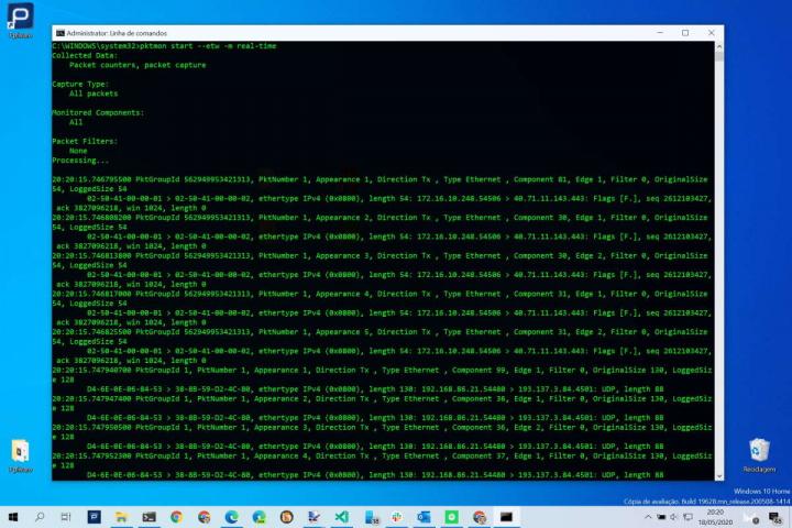 network computer listen to Windows 10 tool