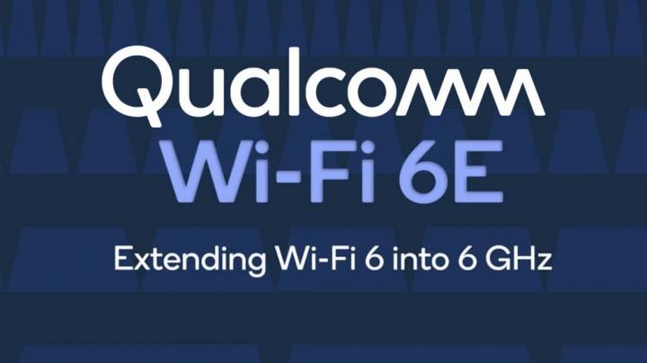 Imagem Qualcomm a anunciar o Wi-Fi 6E