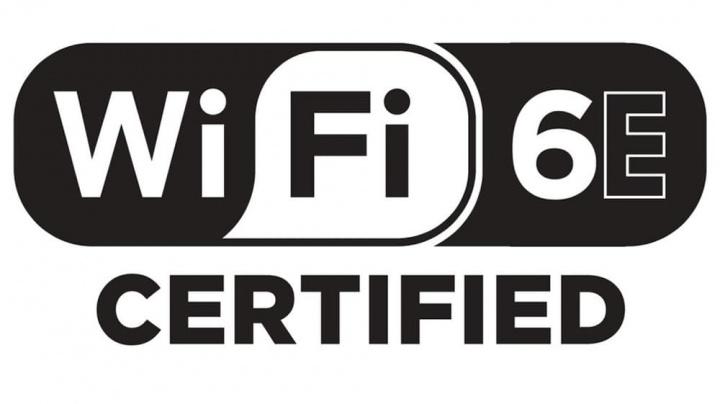 Imagem do logotipo Wi-Fi 6E