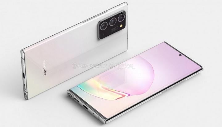 Samsung Galaxy Note 20+ começa a ser revelado