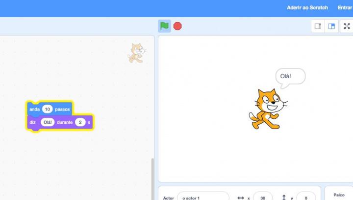 Em casa? Ensine os mais pequenos a programar com o Scratch