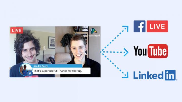 StreamYard: Fazer lives no Facebook nunca foi tão fácil