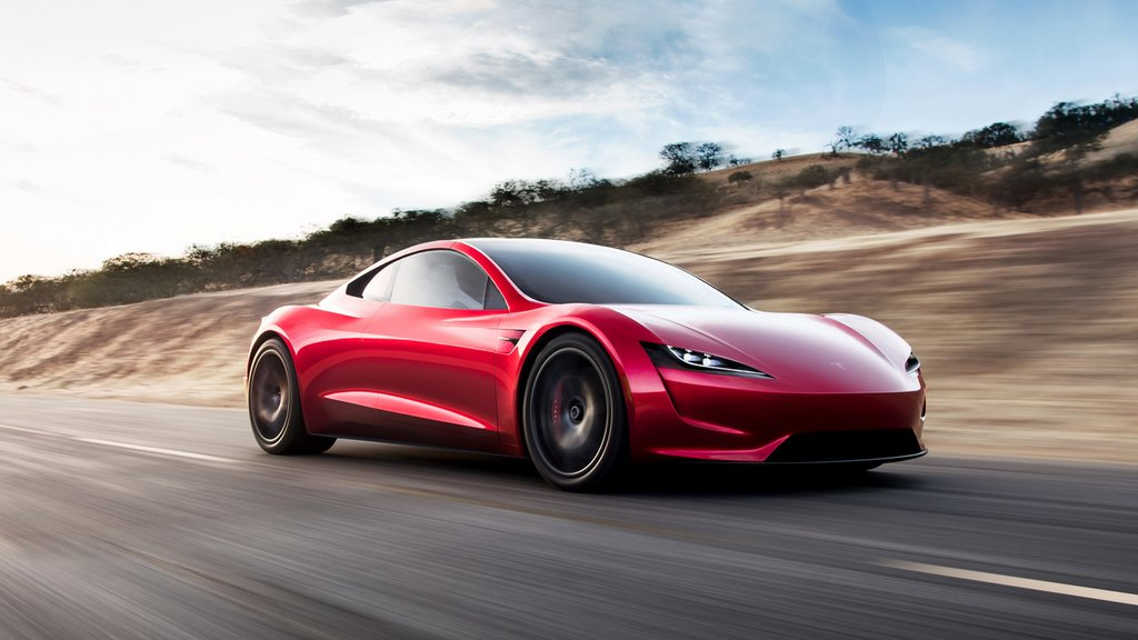 Tesla Roadster - The Tesla sports car is not expected to arrive before 2022