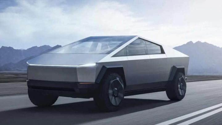 Cybertruck Tesla Elon Musk tamanho carro