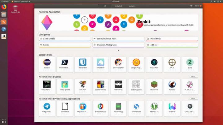 Ubuntu Canonical Linux loja problemas
