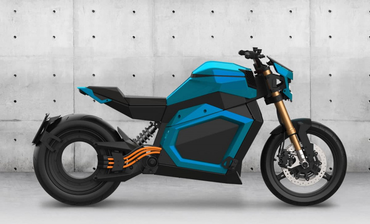 Verge TS is an electric motorcycle of the present with inspirations in fiction ...