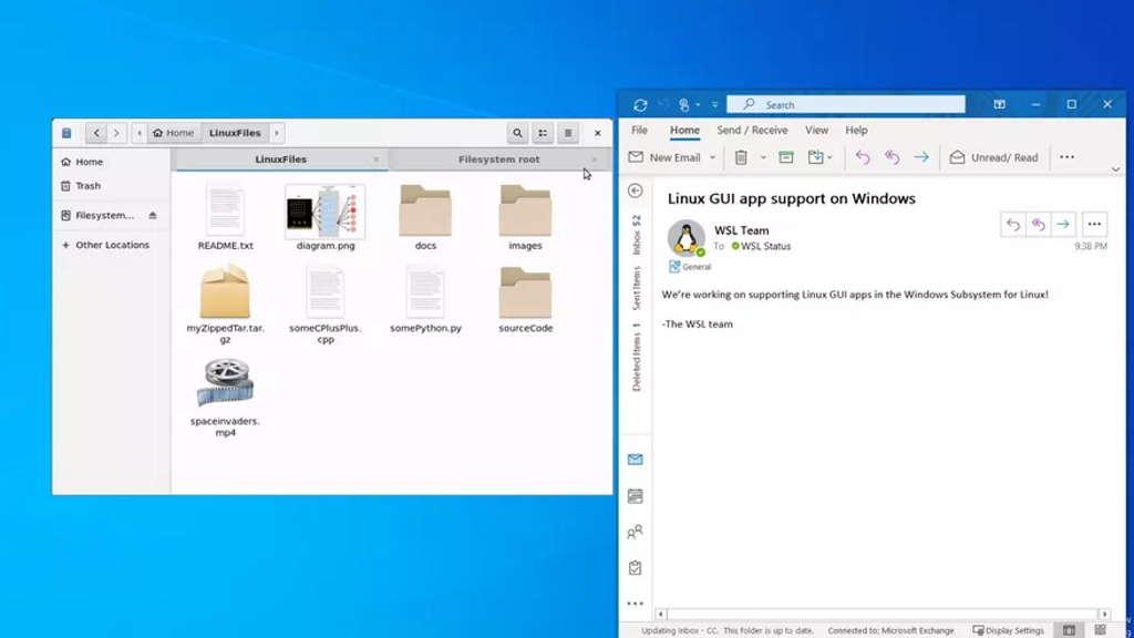 Microsoft Vai Dar Ao Windows 10 As Apps Com Interface Grafica Do Linux