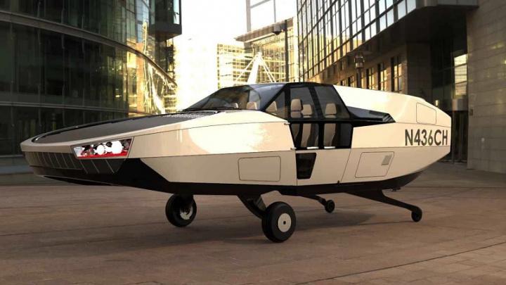 Carro Voador da Urban Aeronautics