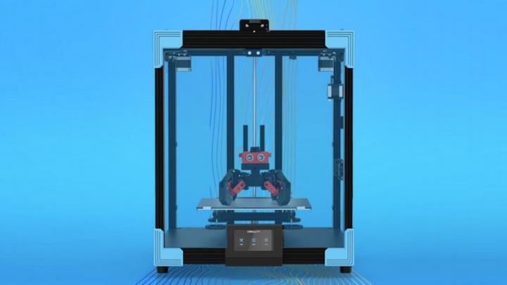 Creality terá nova impressora 3D com área de impressão maior e ainda mais eficiente - Ender-6