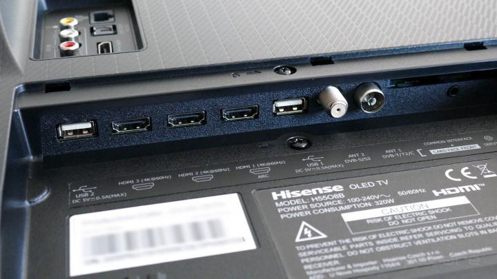 Análise: TV OLED Hisense H55O8B