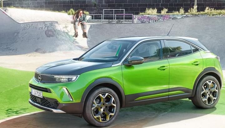 Imagem do Opel Mokka-e, um novo carro eléctrico da marca alemã