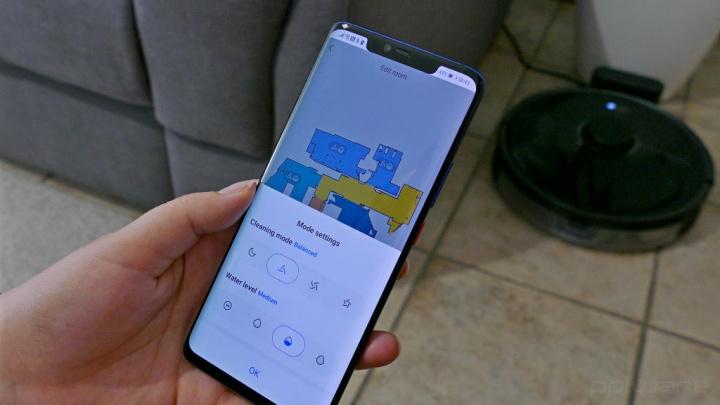 Roborock - a aplicação móvel