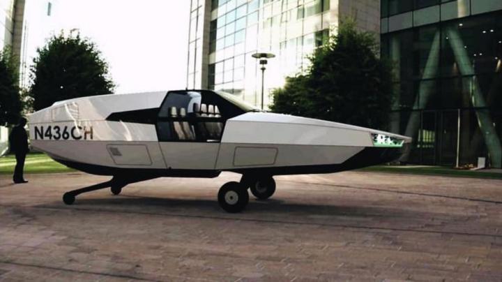 Imagem carro voador Urban Aeronautics