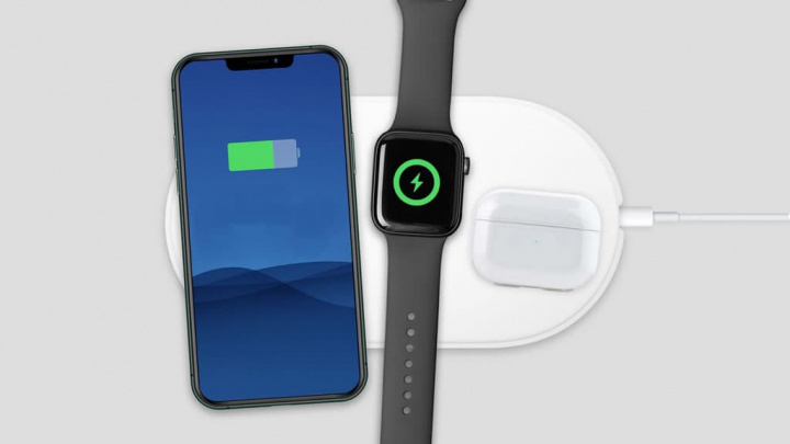 Imagem AirPower da Apple