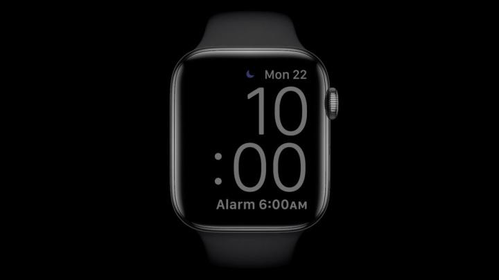 Imagem Apple Watch com watchOS 7