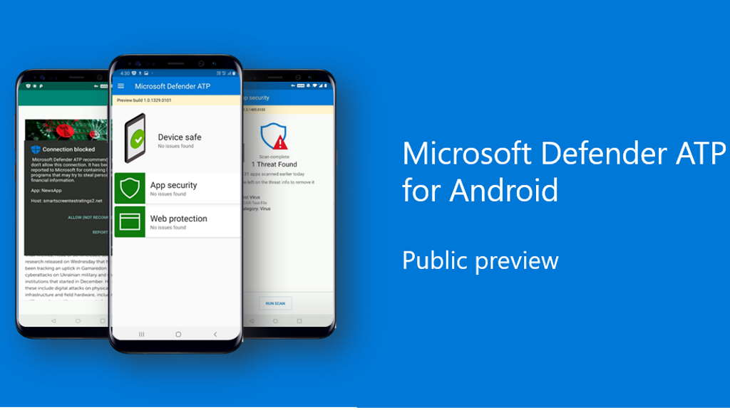Microsoft has also introduced an antivirus to be used on Android and Linux