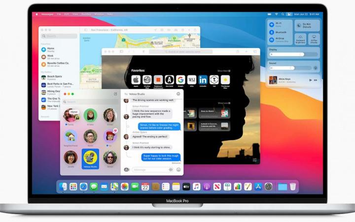 Imagem do novo macOS Big Sur