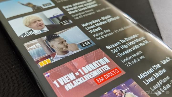 #BlackLivesMatter: YouTube está a bloquear vídeos que incentivem à visualização de publicidade