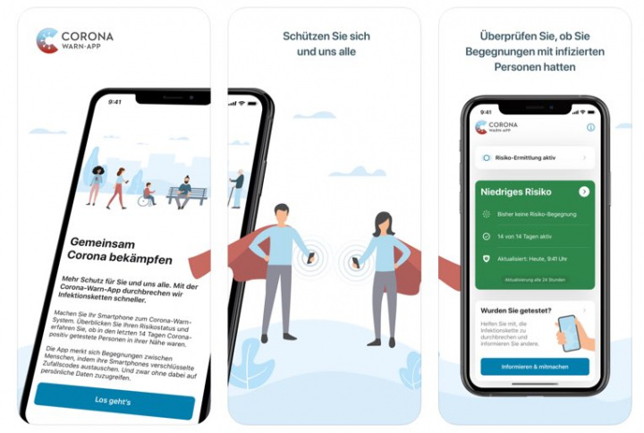 Corona-Warn: A app da Alemanha para tracing à COVID-19 chegou