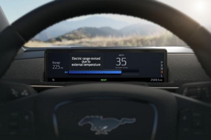 Imagem do sistema da Ford Intelligent Range