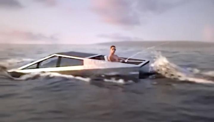 Tesla's Cybertruck could become an amphibious vehicle, says Elon Musk