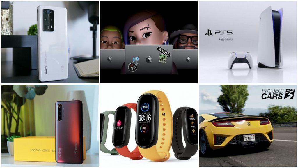 E os destaques tecnológicos da semana que passou foram... - playstation 5, xiaomi mi band 5, huawei p40 pro+, Realme X50 Pro 5G