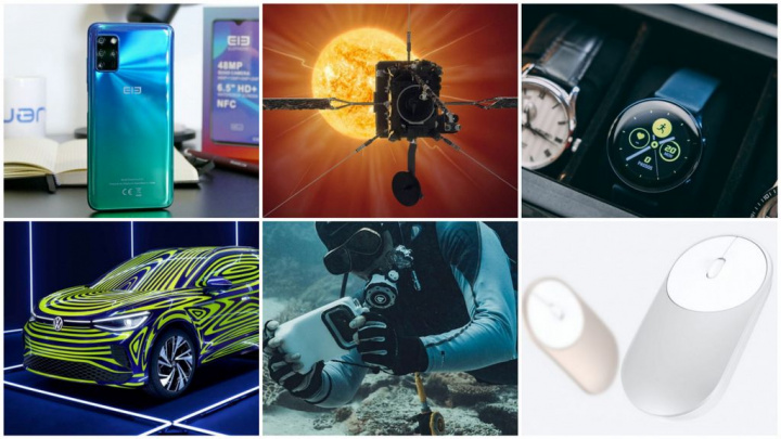 E os destaques tecnológicos da semana que passou foram... - ciência, samsung, snapdragon, elephone