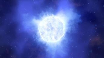 Imagem estrela massiva